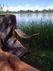 Okavango aan mijn voeten