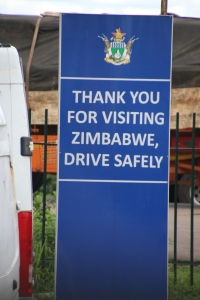 Grens Zimbabwe-Botswana
